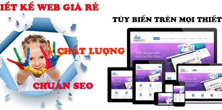 Thiết kế web giá rẻ tại Thành Phố Hồ Chí Minh