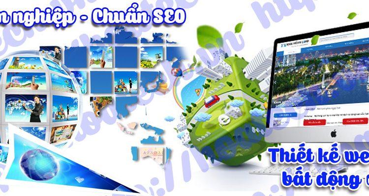 Thiết kế web bất động sản chuyên nghiệp