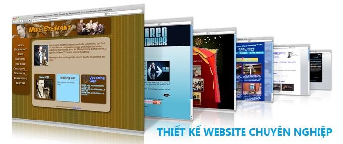 Thiết kế web chuyên nghiệp, chuẩn SEO