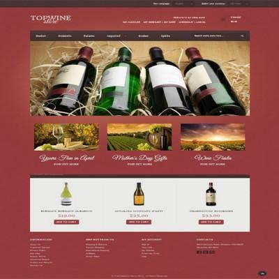 Thiết kế web quán rượu
