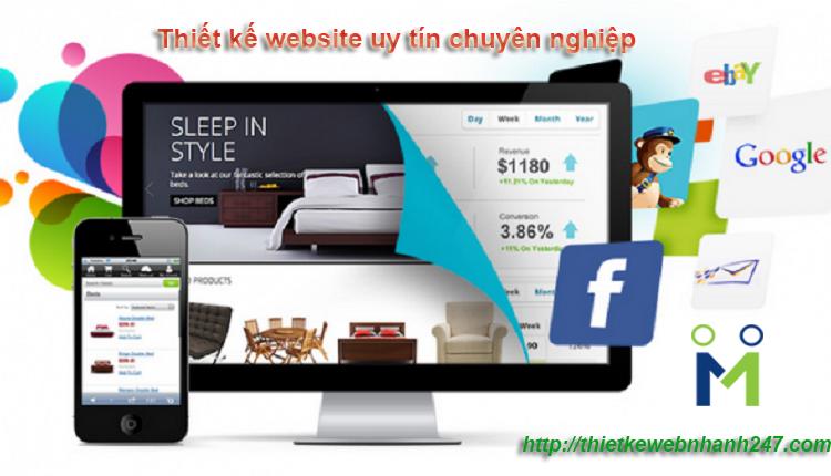 Thiết kế web uy tín, chuyên nghiệp tại Hồ Chí Minh