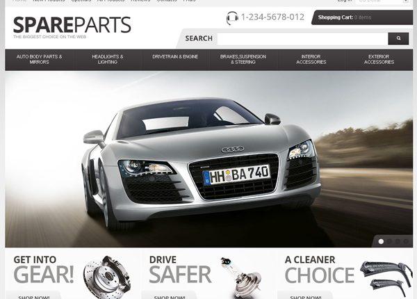 Thiết kế web ôtô – xe máy