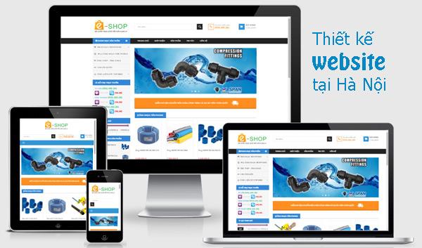 Thiết kế web uy tín, chuyên nghiệp tại Hà Nội