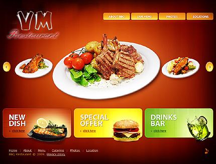 Thiết kế web quán ăn
