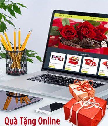 Thiết kế web shop quà tặng