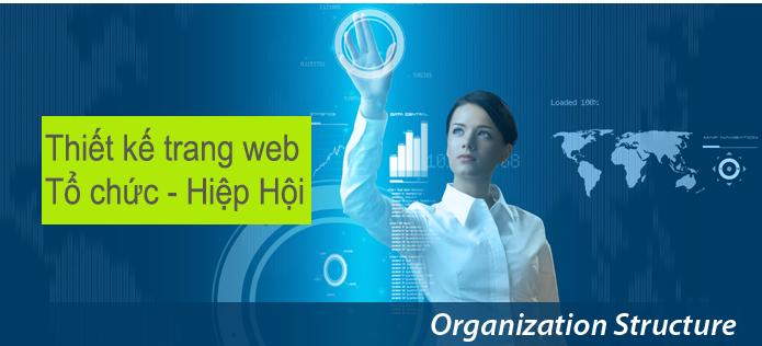 Thiết kế web tổ chức hiệp hội