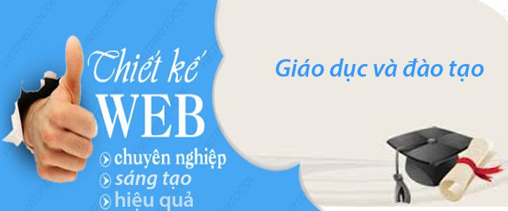 Thiết kế website giáo dục đào tạo trực tuyến