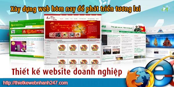 Thiết kế website công ty nước ngoài
