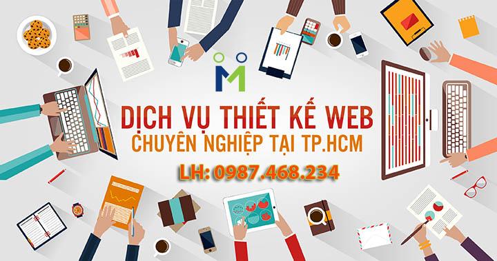 Công ty thiết kế website uy tín chuyên nghiệp tại Hồ Chí Minh