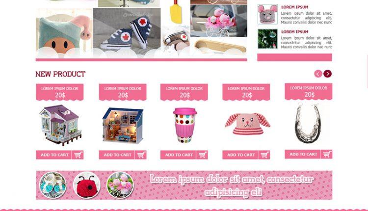 Thiết kế website bán đồ chơi trẻ em giá rẻ chuyên nghiệp