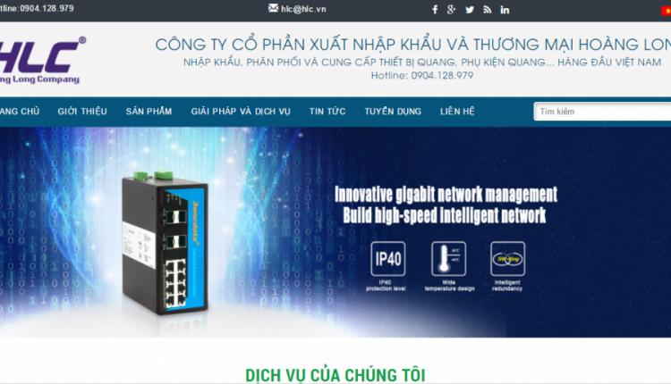 Thiết kế website bán thiết bị công nghệ chuyên nghiệp chuẩn SEO