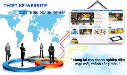 Thiết kế website giới thiệu doanh nghiệp công ty chuyên nghiệp chuẩn SEO