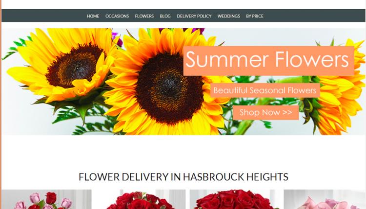 Thiết kế website bán hoa tươi chuyên nghiệp chuẩn SEO