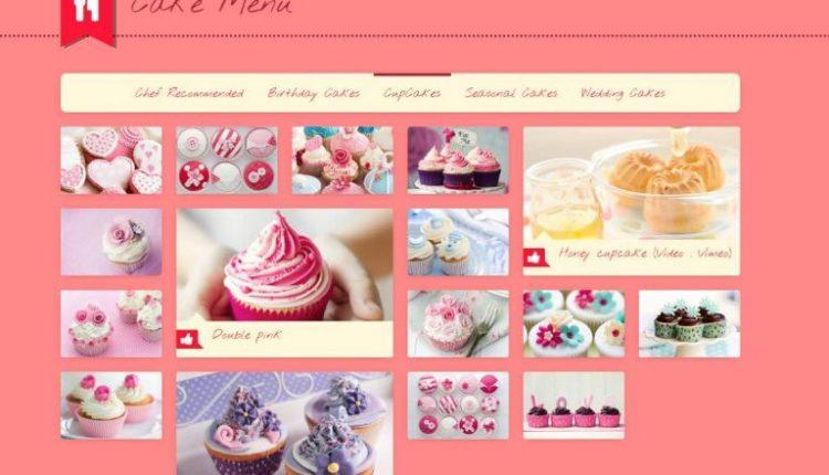 Thiết kế website tiệm bánh chuyên nghiệp chuẩn SEO