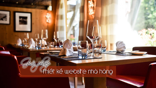 Thiết kế web nhà hàng – quán ăn chuyên nghiệp top Google