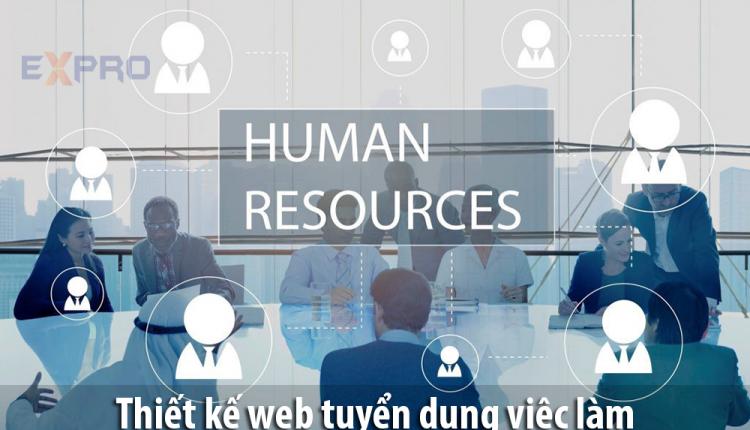 Thiết kế web tuyển dụng, tìm việc làm