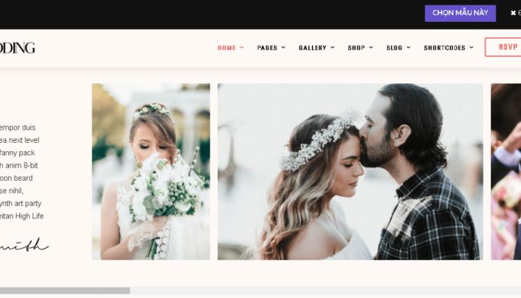 Web ảnh viện áo cưới, 3 mẫu làm say mê mọi cặp đôi khi ghé vào