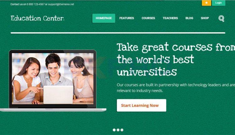 7 mẫu website giáo dục giúp nâng cao sự tin tưởng cho khóa học triển khai