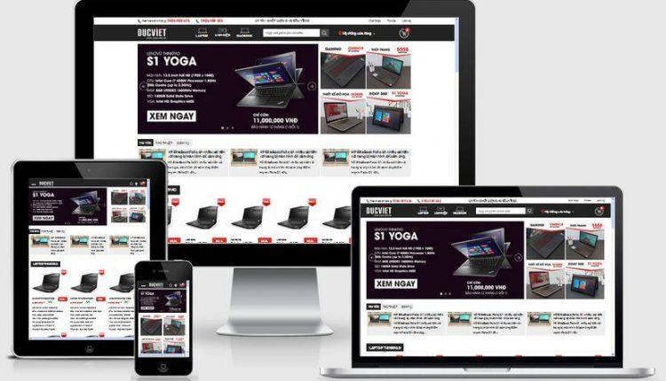 3 theme website máy tính cho ra nhiều đơn hàng bất ngờ