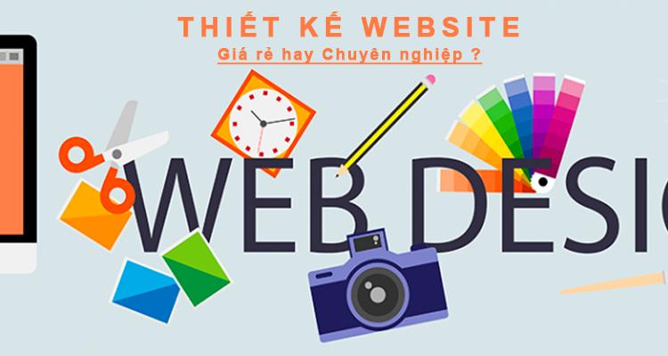 Thiết kế website giá rẻ nổi bật