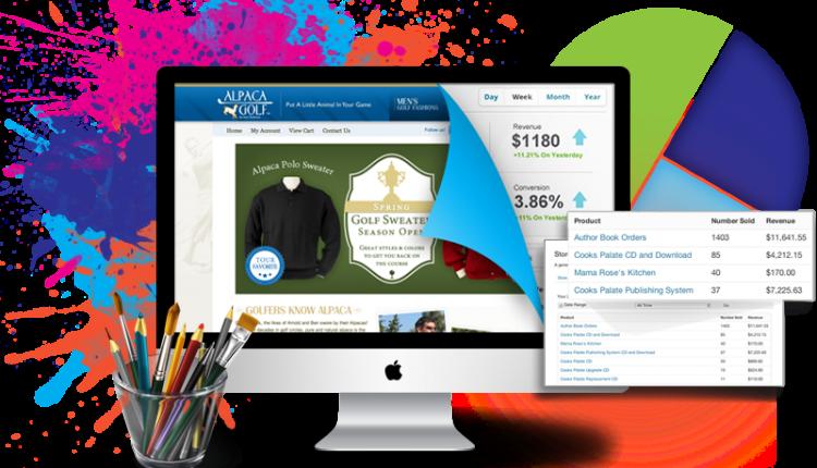 Thiết kế website đơn giản dành cho những ai đam mê kinh doanh